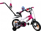 Rower BMX Rbike 3-12 white-purple