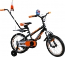 Rower BMX Rbike 4-16 orange-black