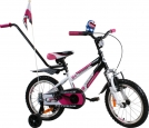 Rower BMX Rbike 4-16 white-purple